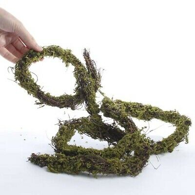 Natural Twig and Artificial Moss Garland