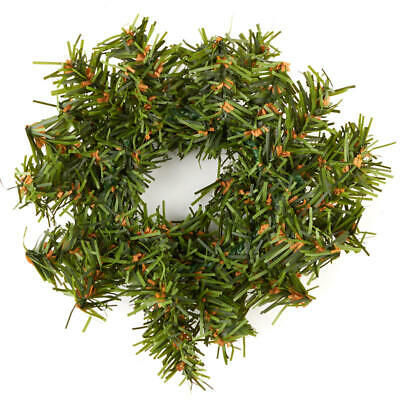 Factory Direct Craft Group of 12 Miniature Artificial Holiday Pine Wreaths