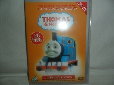 Thomas & Friends Dvd R2-Complete Series 2-Ex.cond-Free Uk Post