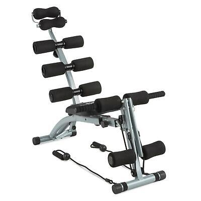 CAPITAL SPORTS Sixish Core Entrenador de vientre Abdominal Body Trainer negro