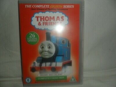 Thomas & Friends Dvd R2-Complete Series 8-Ex.cond-Free Uk Post
