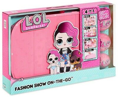 LOL Surprise Fashion Show On The Go Playset [Light Pink]