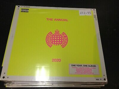 The Annual 2020 On Ministry Of Sound 2-Cd New Mint Sealed Pre-Order 1.11.2019