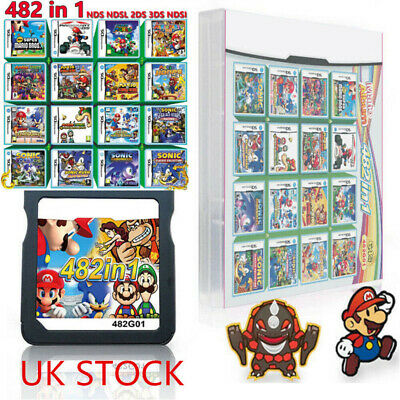 208/482/520 In 1 DS Game Cartridge Fit For Nintendo NDS NDSL NDSI 3DS 3DSLL/XL