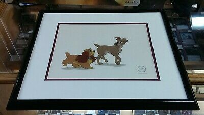 Disney - Lady and The Tramp - Ltd Edition Framed Sericeis - Ed Size: 5000