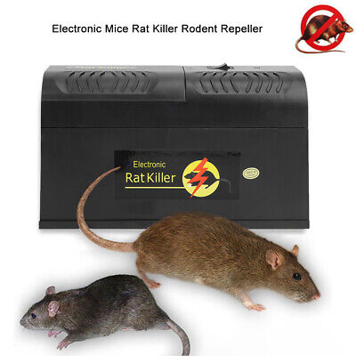High Pressure Electronic Mouse Trap Control Rat Killer Mice Electric Rodent Tool