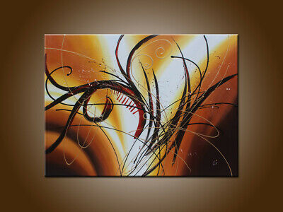 Large MODERN ABSTRACT OIL PAINTING On Canvas Contemporary Wall Art Decor FY3010