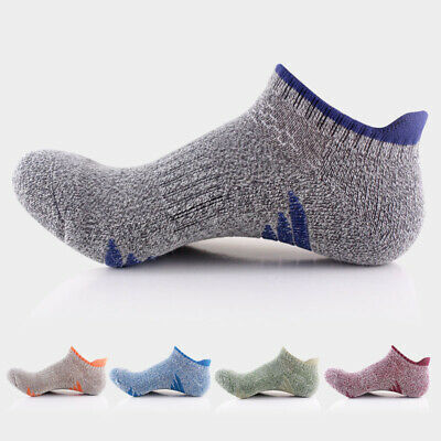 Men's 5pairs Sport Socks Cotton Quick Dry Ankle Socks Low Cut Comfort Breathable