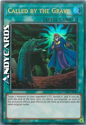 CALLED BY THE GRAVE (Richiamato Dalla Tomba) Ultra R DUDE EN044 Yugioh ANDYCARDS
