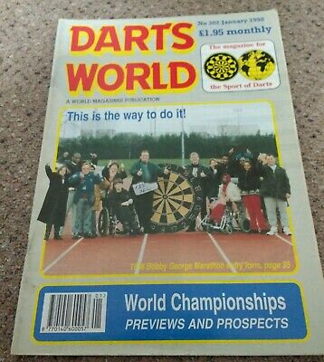 DARTS WORLD. Magazine. January 1998.