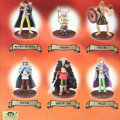 One Piece × Pepsi mini Figure set of 6 Ltd viking ver official anime Authentic