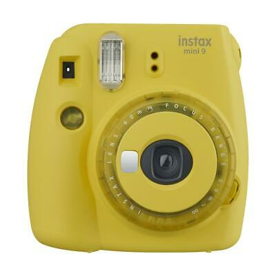 Fujifilm instax mini 9 Instant Film Camera with Clear Accents, Yellow #16632972