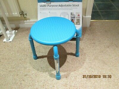 General / Shower Stool Adjustable Height New in box