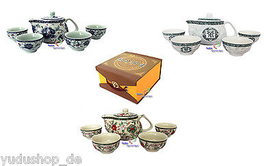Teeseservice Set Asia Tea Set Tea Pot 6 Pieces