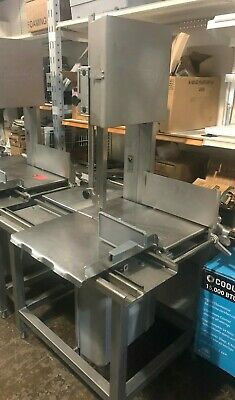 Hobart Vertical Meat Saw Model # 6614- 3 Phase - 3 H.p