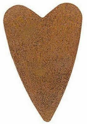 "Factory Direct Craft 3"" Bulk Rusty Tin-Tiques Folk Hearts - 100pcs"