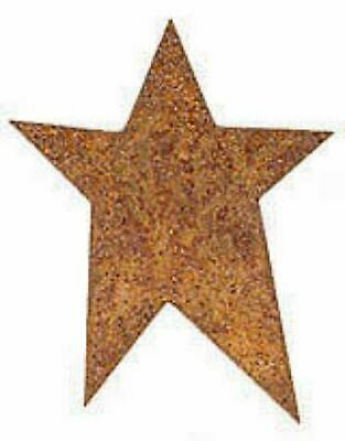 "Factory Direct Craft 1"" Rusty Tin Primitive Stars - Bulk Pkg of 100"