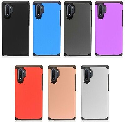 for {Samsung Galaxy Note 10+ PLUS} AH2 Hybrid Cover Phone Case