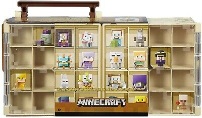 Minecraft Mini figure Collector Case | Holds 32, Kids Toy Gift (figures not inc)