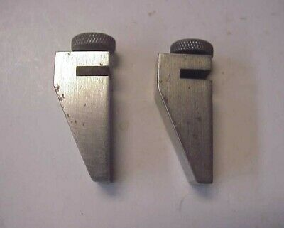 Vintage Machinists Key Seat Rule Clamps