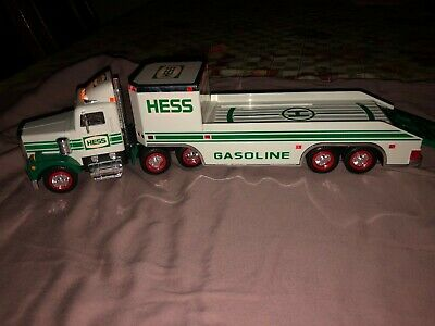 1995 HESS Toy Truck and Helicopter Vintage Collectible