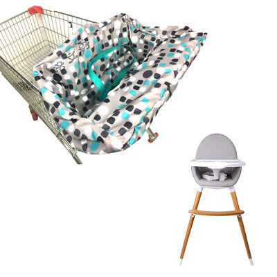Baby Shopping Supermarket Trolley Cart Cover Seat Child High Chair Protector Mat