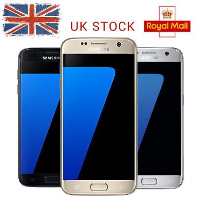 LTE 32GB Unlocked Factory Galaxy New Samsung 4G S7 G930F Phone Android UK