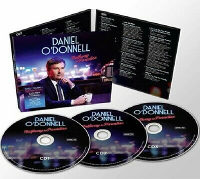 Daniel O'Donnell Halfway to Paradise O Donnell 3 Disc New CD Box Set