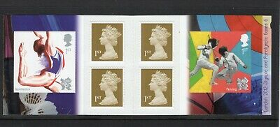 Great Britain 2011 1st Class self adhesive booklet UM (MNH) as issued