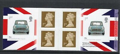 Great Britain 2009 1st Class self adhesive booklet UM (MNH) as issued