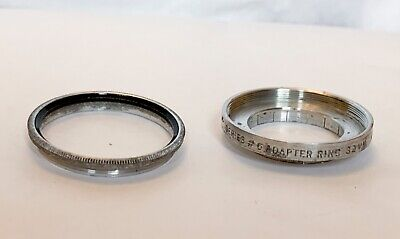 Tiffen 32mm Push on to Series 6  Filter Adapter Ring Step