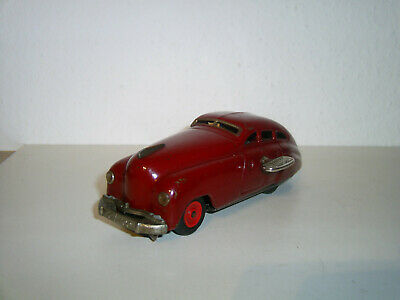 Schuco-Patent 1250 Limousine in rot, Blech