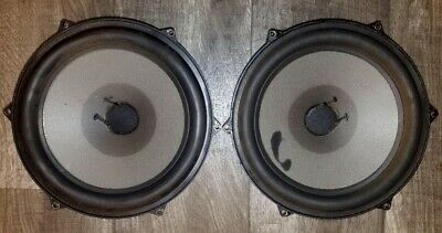 """Vintage Dynaco Seas 25Tv-Ew 10"""" Woofers! Must See Deal! Free Insured Shipping!"""