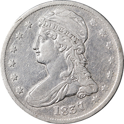 1837 Bust Half Dollar Great Deals From The Executive Coin Company - BBHE6213