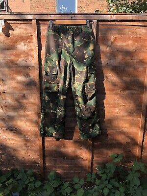 Boys 9-10 Army Combats Desert Camouflage Soldier Cargo Trousers