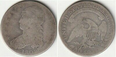 1808 Capped Bust Half Dollar #1113