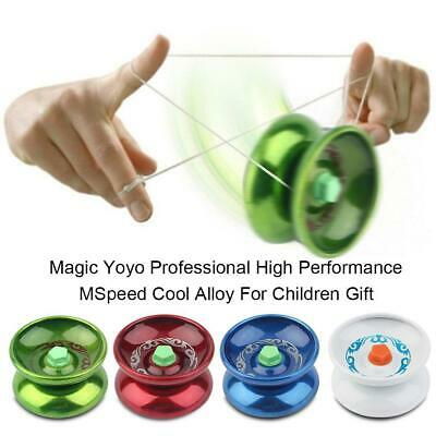 5x Professional Magic Yoyo Aluminum Alloy Metal Yoyo Ball Bearing Child Kid Gift
