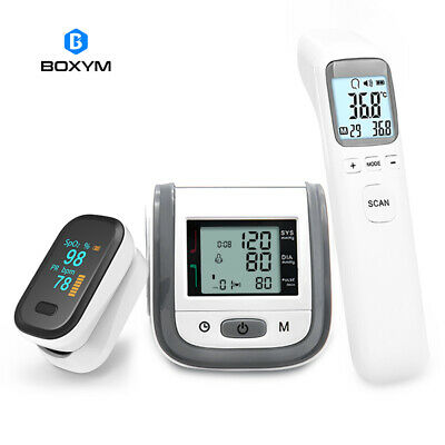 #New Digital Infrared Thermometer Wrist Blood Pressure Monitor Pulse Oximeter