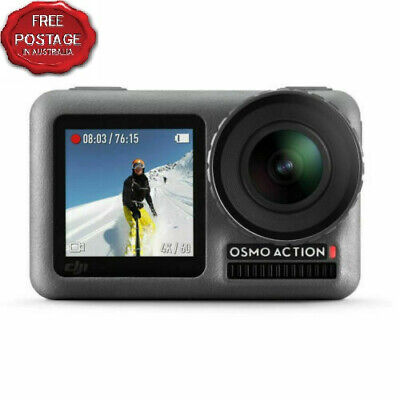 NEW DJI CP.OS.00000020.01 Waterproof 12MP 4K HDR OSMO Action Cam free Shipping