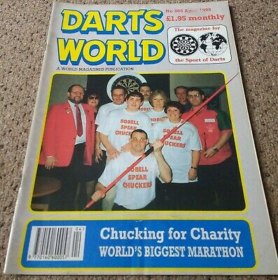 DARTS WORLD. Magazine. April 1998.