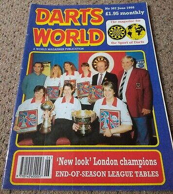 DARTS WORLD. Magazine. June 1998.
