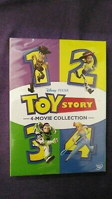 TOY STORY 1-4  New 4-Movie DVD Collection 4 Films Region 1 free Shipping from US