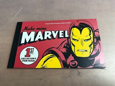 2019 GB ROYAL MAIL MAKE MINE MARVEL HEROES UK PRESTIGE STAMP BOOK *Brand New*