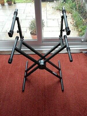 Quiklok QL/742 Double Keyboard Stand
