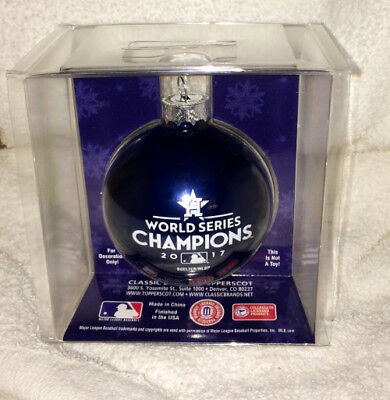 2017 Houston Astros World Series Champs Champions Christmas Ornament #1