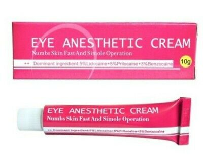Crème anesthésiante Eye Anesthetic Cream, maquillage semi-permanent,...