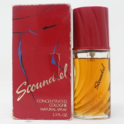 Scoundrel by Revlon Concentrated Cologne (Low Fill 90%) 2.5oz/ml Spray Vinatage