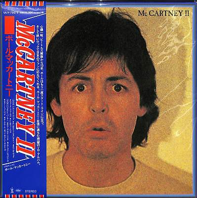 Paul Mccartney-Mccartney Ii-Import LP con Giappone Obi Ltd / ed J50
