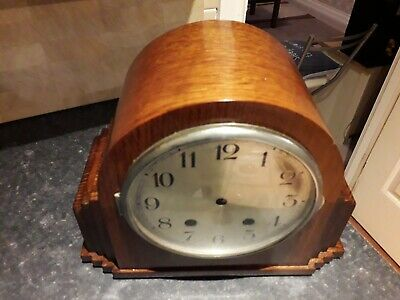 Antique mantle clock case recently repolished