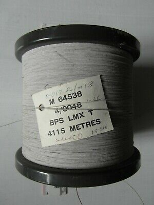 Drum of Brass Coated Steel Wire 4/0.0048 LEWMEX